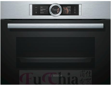【甫佳電器】-【BOSCH】45公分 嵌入式 蒸烤爐 CSG656RS1