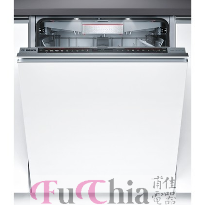 【甫佳電器】-【BOSCH】Zeolite 沸石 全嵌入式 洗碗機 SMV88TD00W