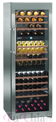 【甫佳電器】- 德國 LIEBHERR 利勃 獨立式三溫酒櫃 WS17800