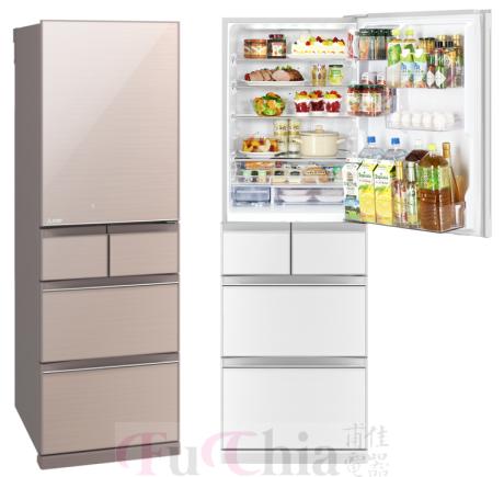 【甫佳電器】- 三菱冰箱 日本原裝變頻455L 五門 MR-BC46Z