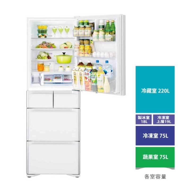 HITACHI RSG420J 五門冰箱 (琉璃) 407L