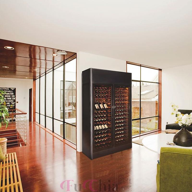 EuroCave ShowCave 9180V 無框玻璃門 專業級 展示酒櫃 單溫 獨立式酒櫃 180瓶 Professional Range 9000 系列
