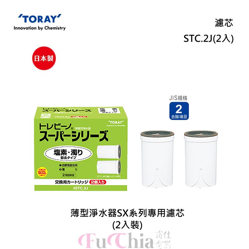 TORAY STC.2J SX系列淨水器專用 濾芯(2入)