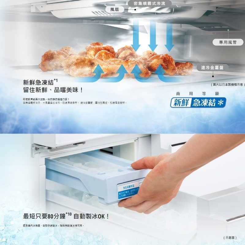 Panasonic NR-D611XGS 四門冰箱(無邊框玻璃) 610L