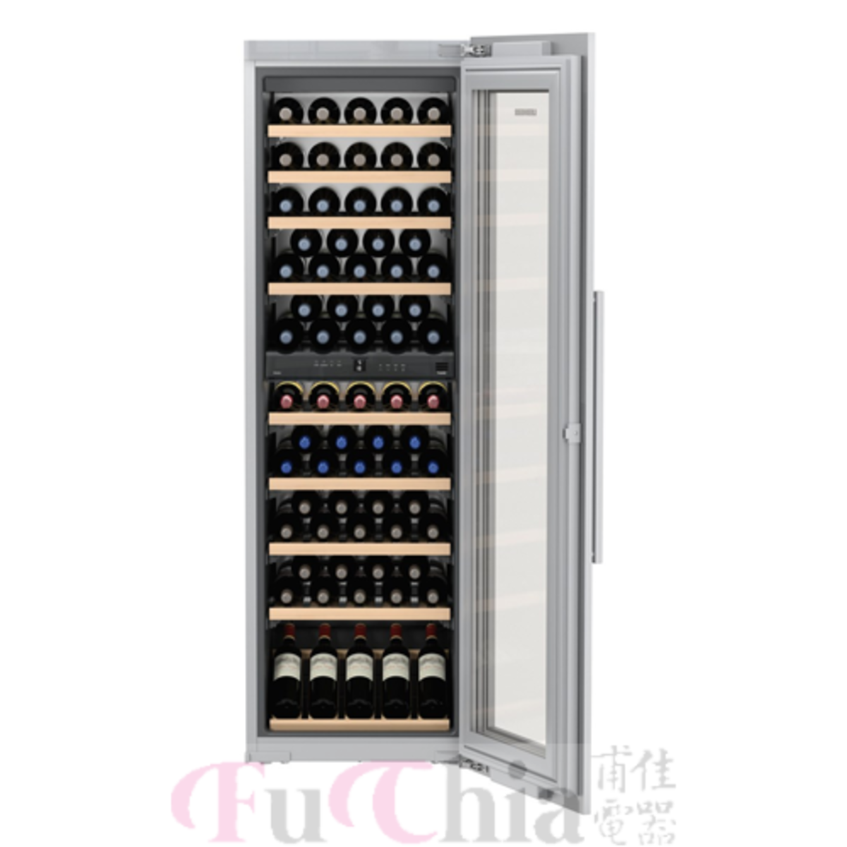 LIEBHERR HW8000 嵌入式 酒櫃 雙溫 80瓶