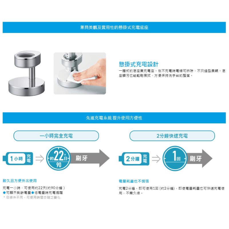 Panasonic EW-DP34 W音波電動牙刷 日本原裝