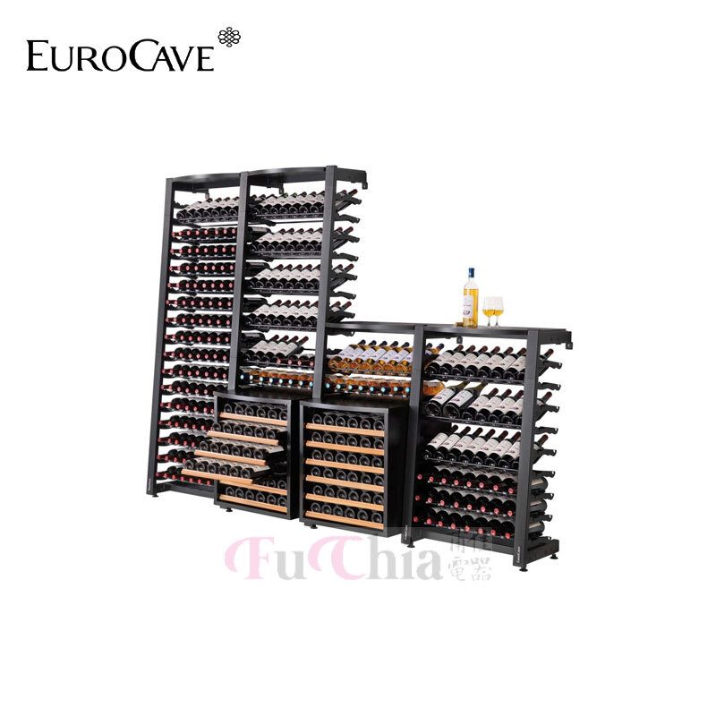 EuroCave MS1 17層酒架 Modulosteel 鋼製酒架