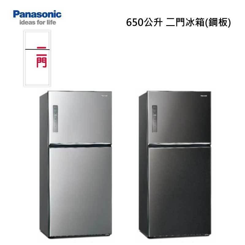Panasonic NR-B651TV 二門冰箱 (無邊框鋼板) 650L