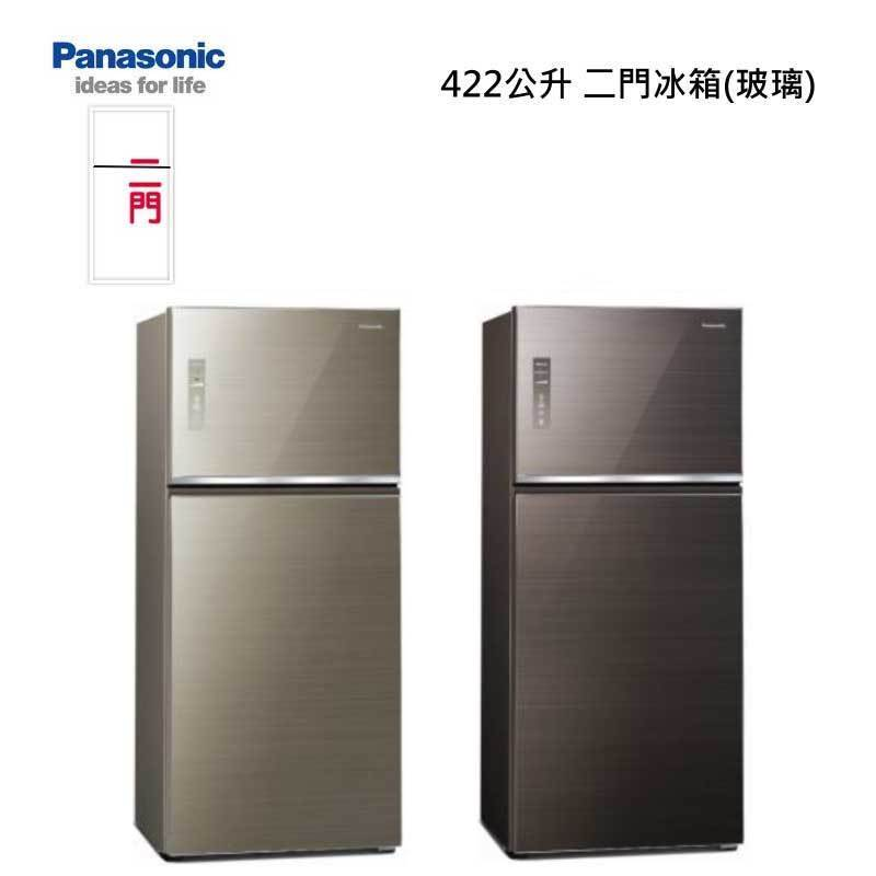 Panasonic NR-B421TG 二門冰箱 (玻璃) 422L