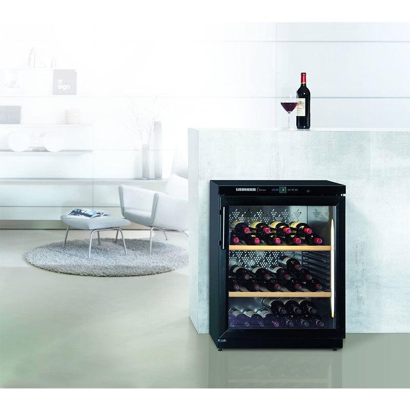 LIEBHERR WKb1712 獨立式 酒櫃 單溫 60瓶