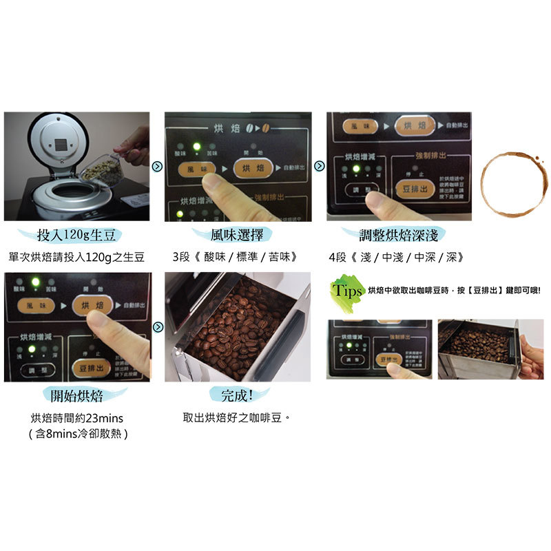 DAINICHI MR-120 生豆烘焙機 烘豆機