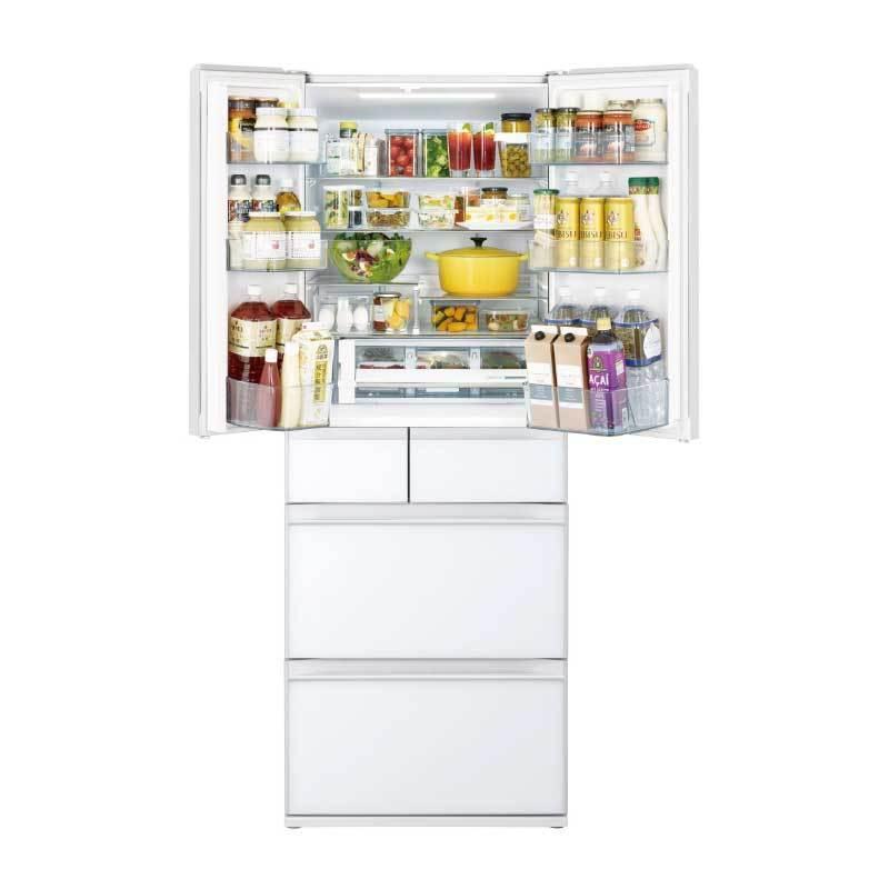HITACHI RHW610NJ 日本原裝 六門冰箱 (琉璃) 607L R-HW610NJ