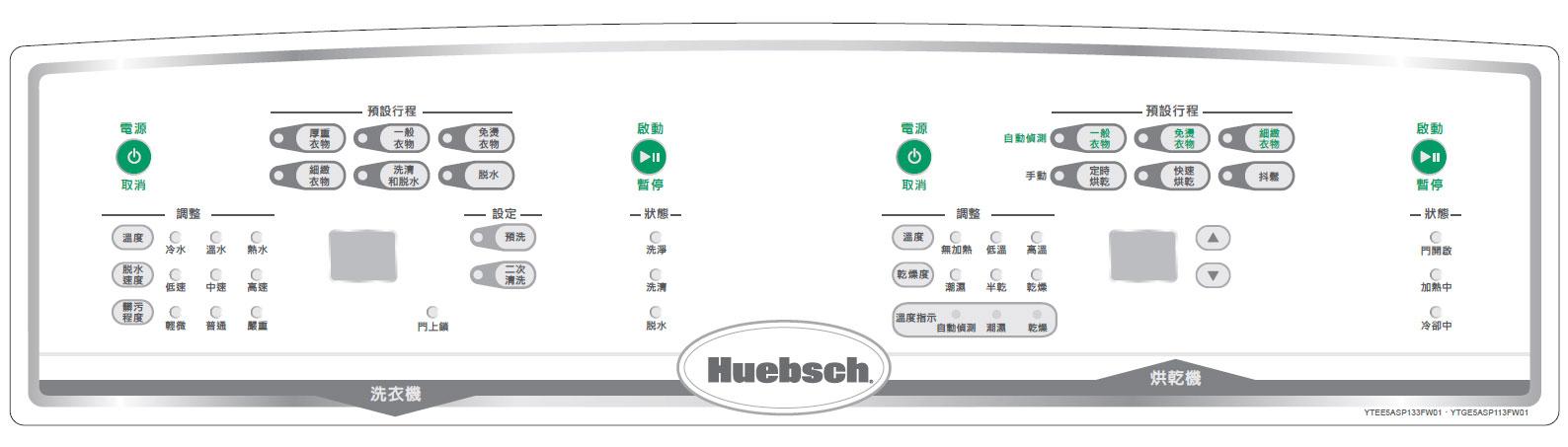 中文面板貼紙
