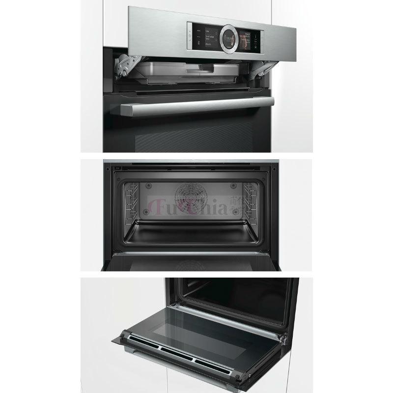 BOSCH CSG656BS1 45公分 嵌入式 蒸烤爐 47L (220V)