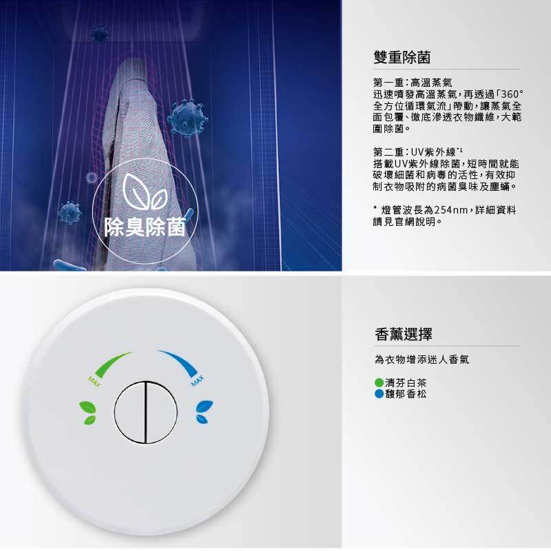 Panasonic N-RGB1R-W 電子衣櫥 雙重除菌 健康護衣